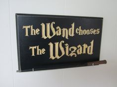 Engraved Wand Holder Display CNC Carved  by AllyBoosCreations