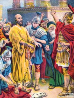 Acts 21 Bible Pictures: Paul arrested