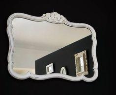 espejo frances provenzal original antiguo lucerito vintage