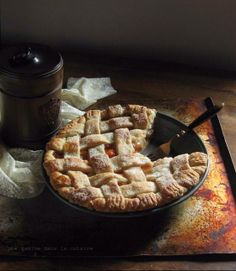 Stone Fruit Pie made with peaches, plums, and apricots...also includes great crust recipe and directions