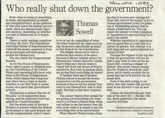 Who Really Shut Down The Government?