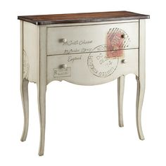I pinned this Postcard Accent Table from the Resolution: Contain Clutter event at Joss and Main!