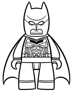 lego movie coloring pages - Batman - Squid Army