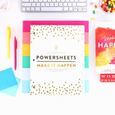 Take 40% off PowerSheets now through June 20 with the code SUMMERGOALS. Undated Six-Month Set: Start in June or July...