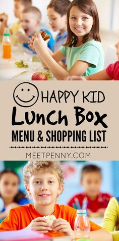 Want to have a happy kid at lunch time but lacking lunch box ideas? Use this 2 week rotation of school lunch ideas to pack lunch boxes with foods they will eat without growing bored. Printable menu and shopping list. No weird ingredients.
