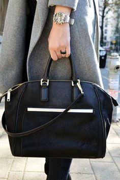 Style corner -  Calvin Klein bag and Emporio Armani watch. Perfect. See more www.foundation4.rs