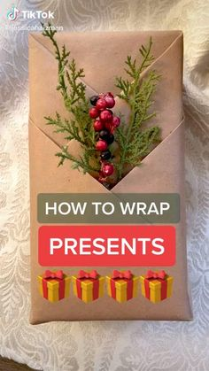 The holidays are coming! For any tips for gift wrapping? See this video for christmas gift wrapping. #christmasgiftwrapping #Theholidays