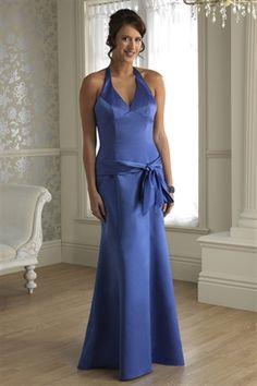 cornflower blue dresses | ... Dress Cornflower Blue Bridesmaid Dresses, Long Halter Dresses For