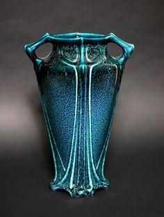 Art Nouveau Vase.  (Made out moonlight, dipped from the sea at midnight)