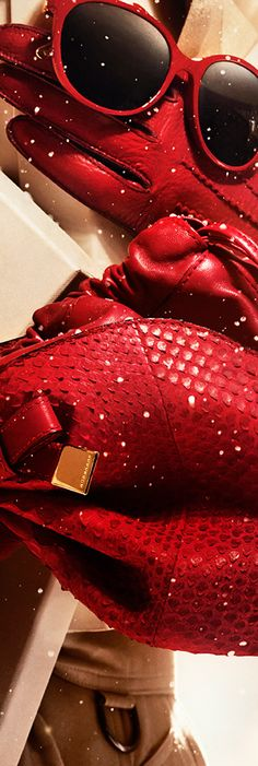 Be inspired by the Burberry 2013 festive gift collection for women in bold festive hues