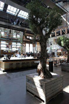 Restaurant, bar, bistro Khotinsky in Dordrecht, the Netherlands.