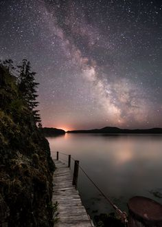 The Lake and the Stars --- by Blake Randall on 500px