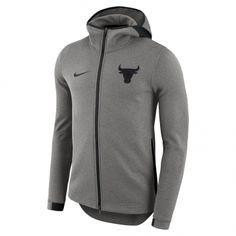 e475f2e3fad9 Nike Men s San Antonio Spurs Dry Showtime Full Zip Hoodie (Grey Dark
