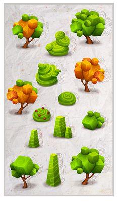 Games art design low poly 41 ideas for 2019 Game Design, Web Design, Design Art, Graphic Design, Environment Concept Art, Environment Design, Game Environment, Level Design, Plant Sketches