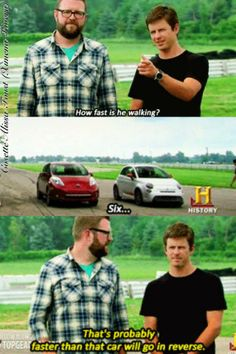 you can never have too much top gear