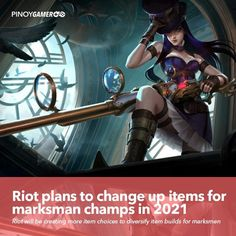 Riot plans to change up items for marksman champs in 2021 #marksman #RiotGames #LeagueOfLegends #Pinoygamer