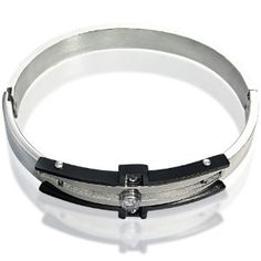 316L Stainless Steel Bracelet with Center Stone CZ Accent(Diameter 53mm) (Jewelry)  http://www.amazon.com/dp/B007O1NA8M/?tag=iphonreplacem-20  B007O1NA8M