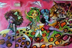 Peruvian Artist Diana Contreras aka Didi