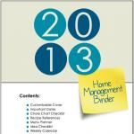 FREE Again!  2013 Home Management Binder Printables LOVE these printables!