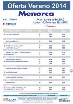 Menorca: Oferta en Hoteles en Menorca salidas desde Bilbao ultimo minuto - http://zocotours.com/menorca-oferta-en-hoteles-en-menorca-salidas-desde-bilbao-ultimo-minuto/