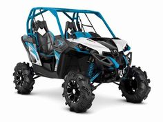 New 2016 Can-Am Maverick X mr 1000R ATVs For Sale in Florida. READY FOR THE MUD STRAIGHT FROM THE FACTORYThe purpose-built, mud-ready Maverick X mr is ready to tame muddy trails and closed-course mud bogs. With 101-HP, 30-inch mud tires and snorkels; take on any mud hole with confidence.Features may include:ROTAX 1000R V-TWIN ENGINE101-HPThe 976cc, 101-hp Rotax® 1000R V-Twin engine is at the heart of the Maverick performance. The optimized air flow from the intake to the dual exhaust makes…