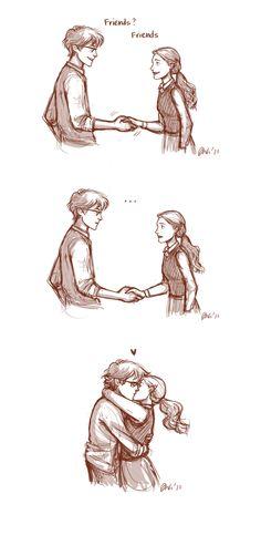 James Potter and Lily Evans by IzziBelle.deviantart.com