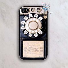 Vintage Telephone iPhone 4 Case