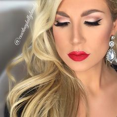 Holiday glam makeup