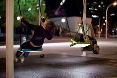 72 Interactive Art Installations -Musical swings