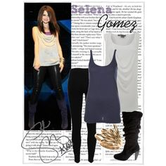 Celebrity Style: Selena Gomez, created by straightuphustlergirl on Polyvore