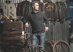 Old school bicycling - American Pickers Mike Wolfe talks bikes #cycling