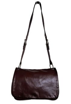 FOSSIL Orangey Brown Leather Zipper Shoulder Hobo Slouchy