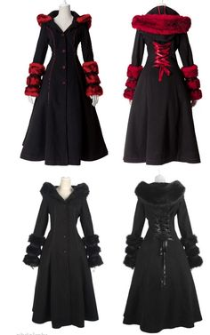 I Want The Red One!!!!  Ridding Hood Gothic Coat - Jackets | RebelsMarket