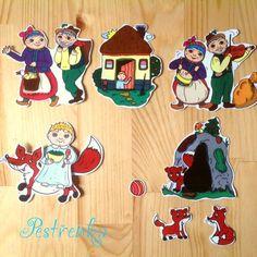 O Budulínkovi - pohádková vystřihovánka / Zboží prodejce pestrenka. Logos, Character, Logo