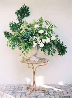 Botanical Wedding at Cannon Green Charleston with Easton Events and Eric Kelley