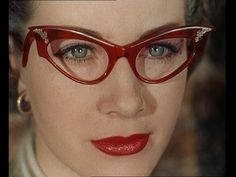 """Women In The '50s Had Way Cooler #Glasses Than We Do"" #1950s"