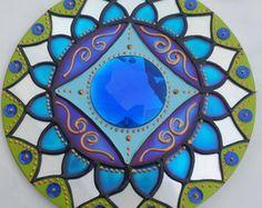 Mandala Serenidade em CD reciclado