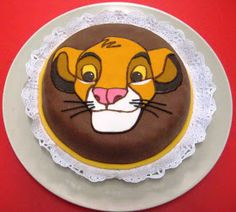 ¡¡ Me tienes tarta !!: Simba, el Rey León