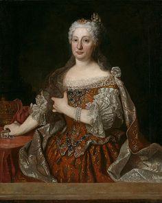 D.Mariana de Áustria, rainha de Portugal