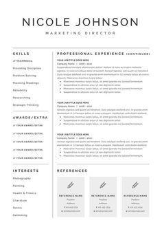 Templates For Resume Fresh Cleanly Designed Resume Templateresume Foundrymodern