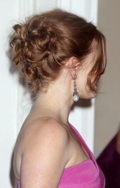 Amy Adams romantic, updo hairstyle