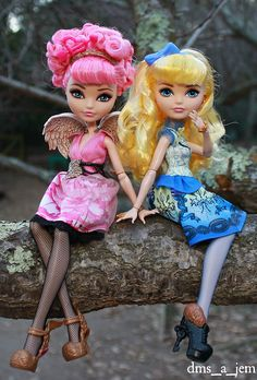 Cupid & Blondie from Ever After High on Flickr.