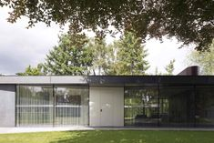 Conceived as a Minimalist Geometric Composition this Wonderful Construction Perfectly Integrates the Interior with The Exterior