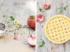 DIY Rezept: Pfirsich-Pie backen // DIY recipe: peach pie via DaWanda.com
