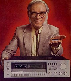 Isaac Asimov for Radio Shack