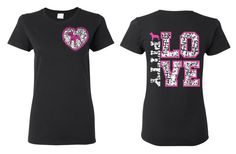 Pitty Love Ladies Cut Tshirt Pitbull Art Pitbull Shirt Pit  Pitbull Mom Pitbull Clothing Pit Bull Cothing Pit Bull Hoodie Pit Bull Baby Pink