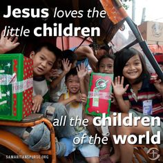 They are all precious in His site.. Jesus loves the little children of the world... red, yellow, black and white...