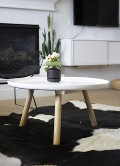 Table from Normann Copenhagen. Design by Nicholai Wiig Hansen. Love.