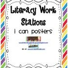 This packet is a perfect supplement to my Literacy Work Station Management Packet. There is an I Can poster for each LWS station in that packet. Literacy Work Stations, Learning Stations, Reading Library, Word Study, Reading Activities, Poster On, Teacher Newsletter, Classroom Management, Scrapbook Paper