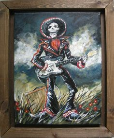skeleton mariachi band | the mad craft shoppe: Mariachi! with electric guitar